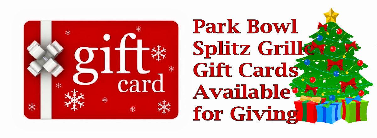 Park Bowl Gift Card